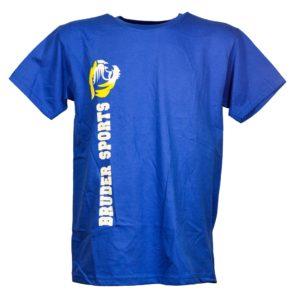Bruder Sports Organic T-Shirt Logo auf der front Seite for Men